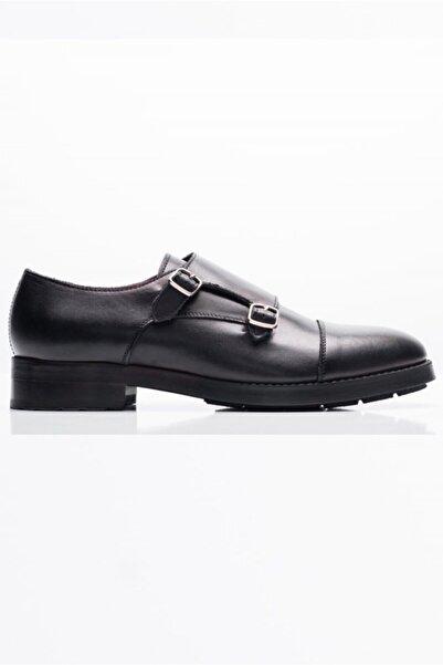 Giovane Gentile Erkek Siyah Klasik Ayakkabı