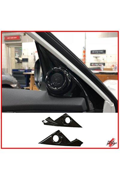 SNTGARAGE Honda Civic Fc5 Twitter Kaplama Piano Black 2016-2020