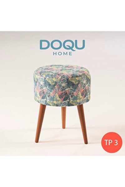 Doqu Home Trio Dekoratif Puf Tp3