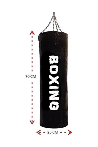 Spor Byfit 70 Cm X 25 Cm Hazır Dolu Boks Kum Torbası