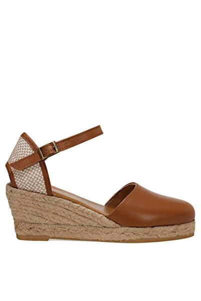 Nine West FRIDA Taba Kadın Dolgu Topuk Sandalet 100526034