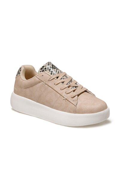Kinetix Lılyse Kum Rengi Kadın Havuz Taban Sneaker