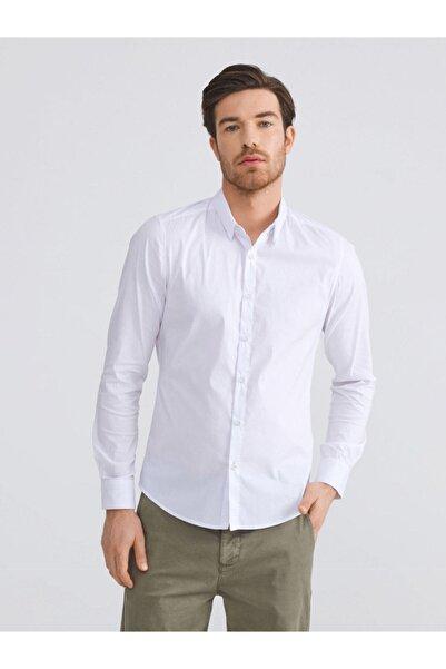 Xint Xınt Pamuklu Slim Fit Basic Gömlek