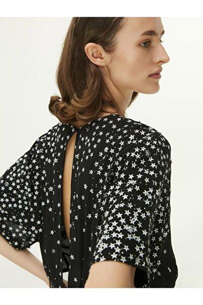 Twist Yıldız Desen Bluz