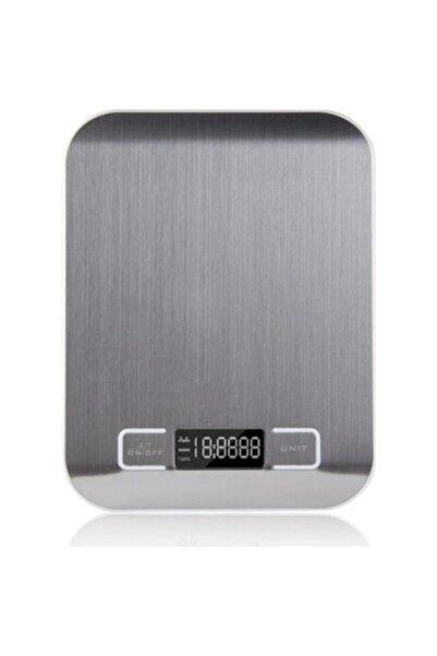 Techno phone Pratik 5 Kg Paslanmaz Çelik Hassas Mutfak Terazisi 1gr Hassasiyet Karışık Renk