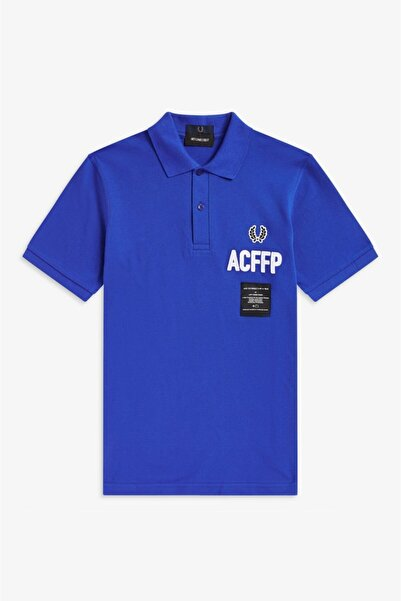 Fred Perry Erkek Mavi Polo Yaka T-shirt 191FRPEPTS5120_F919