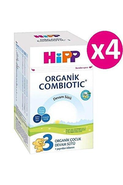 Hipp 3 Organik Combiotic Bebek Sütü 4 X 800 gr
