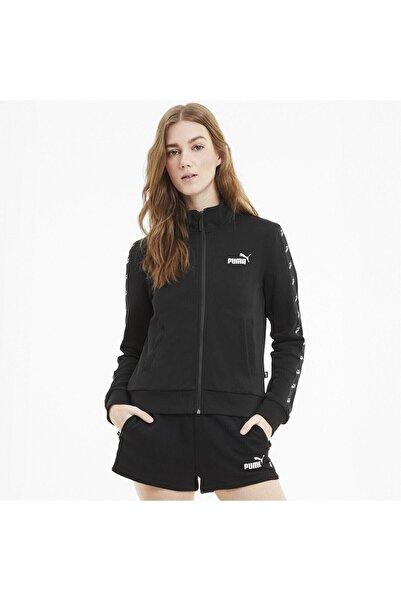 Puma AMPLIFIED TRACK Siyah Kadın Sweatshirt 101119451