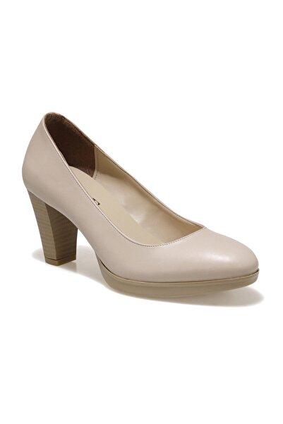 Miss F DW20021 Bej Kadın Topuklu Ayakkabı 100663322