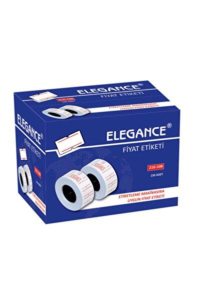 Rubenis Elegance Makine Fiyat Etiketi Beyaz 210-10/b 10 Lu (1 Paket 10 Adet)