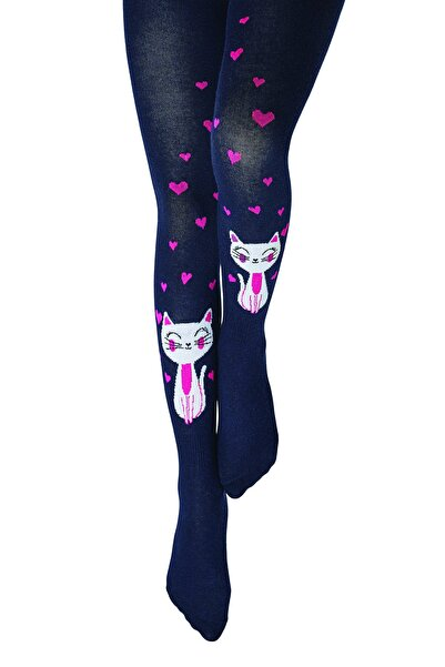 Penti Desenli Külotlu Çorap