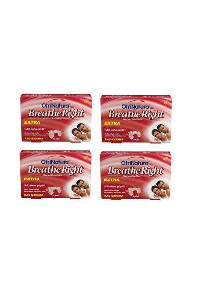 Breathe Right Extra Burun Bandı 10lu 4 Paket