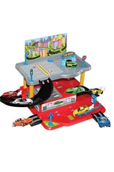 DEDE Oyuncak 2 Katlı Garaj Seti 03067