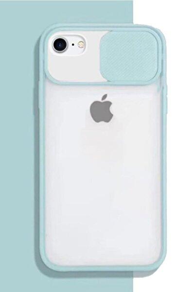 Cimricik Apple Iphone 6 Plus 6s Plus Kılıf Sürgülü Kamera Korumalı Silikon