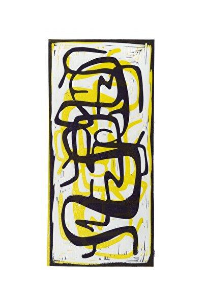 Aylin Taslak Labyrinth No 3, 18x35, Linol Baskı