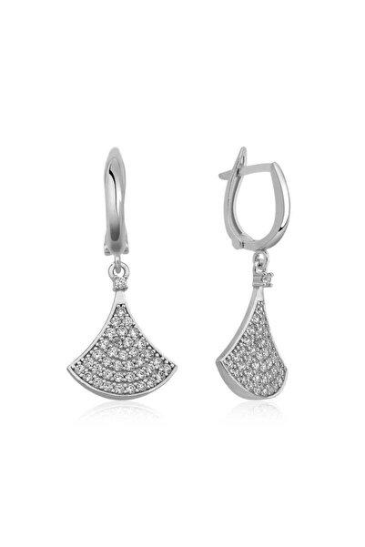 Gumush Gümüş Klasik Bayan Küpesi