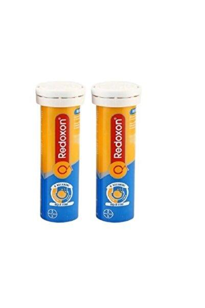 Redoxon Redox_on Üçlü Etki C Vitamini D Vitamini Çinko Efervesan 15 Tablet 2 Li