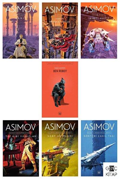 İthaki Yayınları Asımov 7 Kitap Set Vakıf Galaktik Imparatorluk Ben Robot Isaac Asımov /