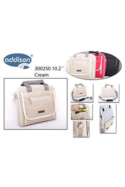 ADDISON 300250 10.2 Krem Bilgisayar Netbook Çantası
