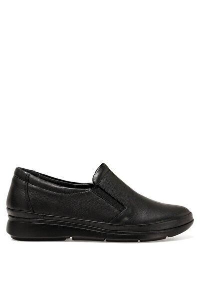 İnci Amalıa Siyah Kadın Slip On Ayakkabı