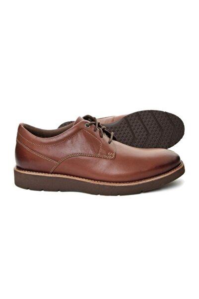 CLARKS Folcroft Plain Kahverengi Erkek Ayakkabı