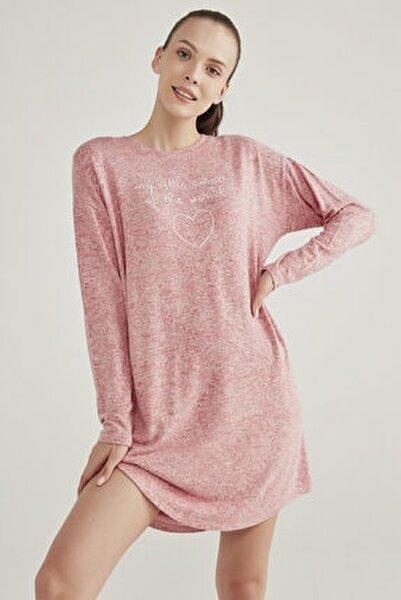 Pembe Melanj Pink Feeling Elbise