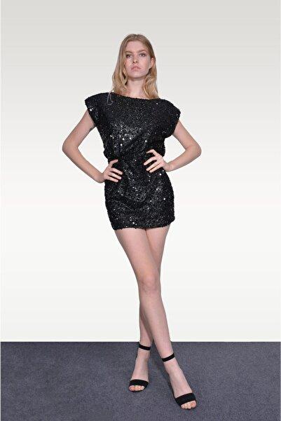 MyLace Payetli Elbise