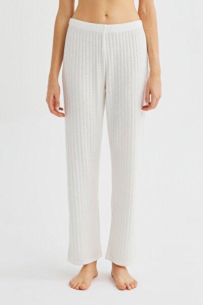 Penti Beyaz Soft Pantolon
