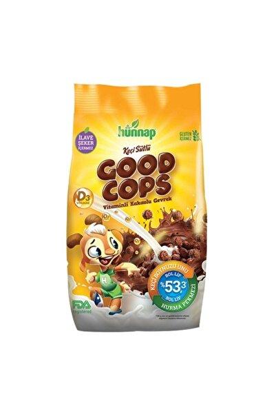 Hünnap Doğal Good Cops Keçi Sütlü Vitaminli Kakaolu Gevrek 300 gr