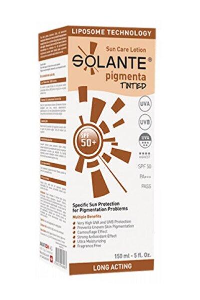 Solante Pigmenta Tinted Spf50+ Güneş Koruyucu Losyon 150ml | Koyu Lekelere Karşı Renkli Bakım