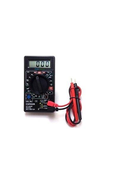 Tenon Dijital Avometre, Multimetre, Direnç, Akım, Voltaj, Transistör Ölçümü (öğrenciler Için Ideal)