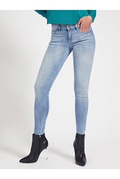Guess Kadın Mavi Curve X Denım Pantolon