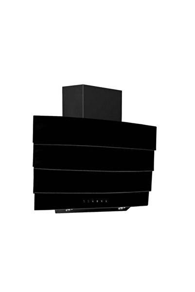 Ferre S Fmk 600 Siyah 650 M3 Yatay Cam Davlumbaz