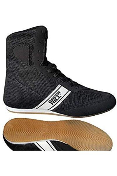 Green Hill Profesyonel Güreş Boks Ayakkabısı Siyah - Lbs - 1801