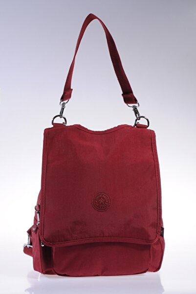 SMART BAGS Smb1119-0021 Bordo Kadın Sırt Çantası