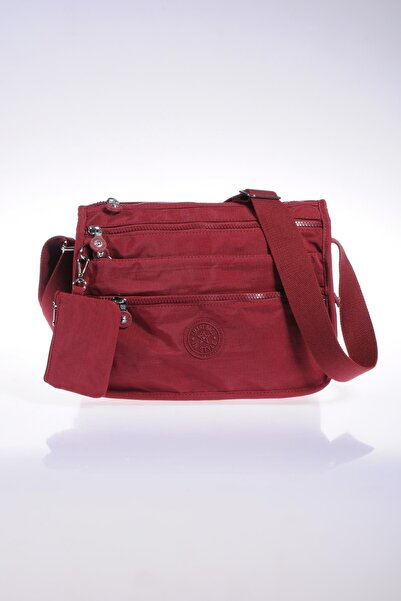 SMART BAGS Smb1128-0021 Bordo Kadın Çapraz Çanta