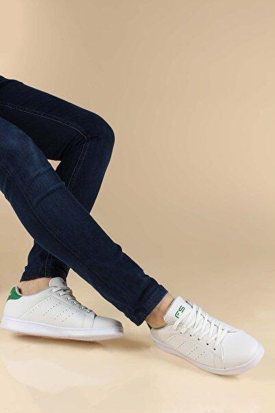 FAST STEP Beyaz Yeşil Erkek Sneaker Ayakkabı 923ma41fst