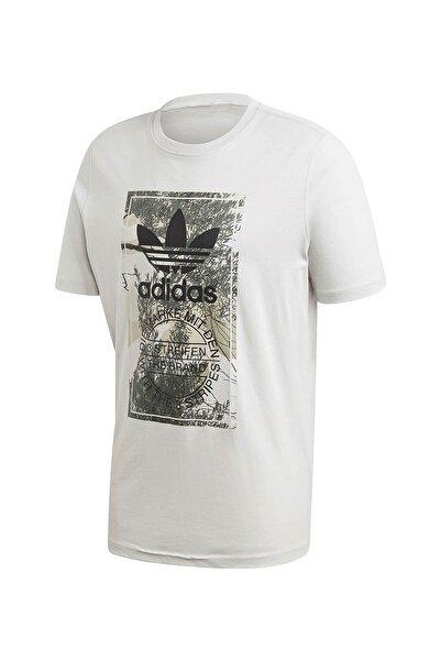 adidas Erkek Spor T-shirt - Camo Tongue Tee - Gd5952
