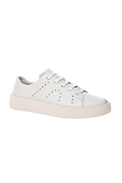 Kadın Bej Hakiki Deri Sneaker K200945-001-39