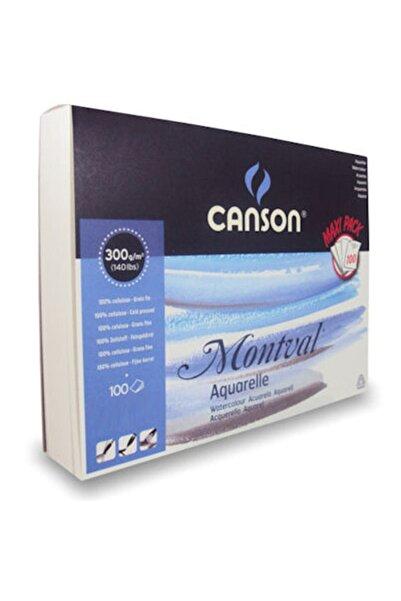 Canson Montval Maxi Pack Suluboya Blok 300 gr. 100 Sayfa 29,7x42 Cm. (A3)
