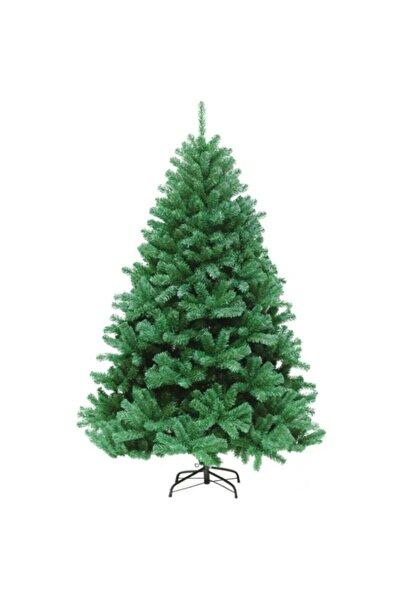 Pazarholding Yılbaşı Lüks Yeşil Çam Ağacı 150cm 217 Dal Demir Ayaklı