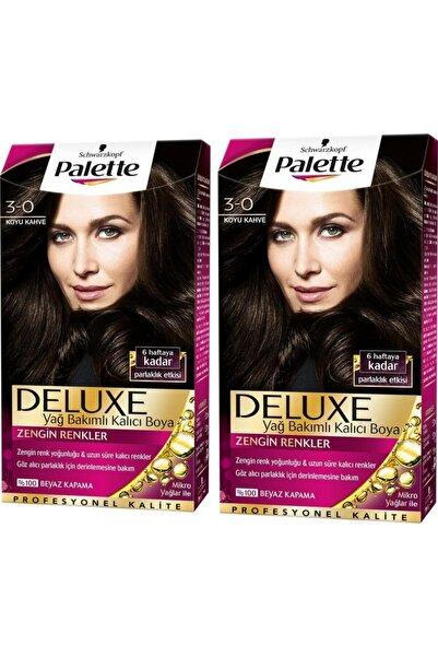 Palette Deluxe 3-0 Koyu Kahve X 2 Adet