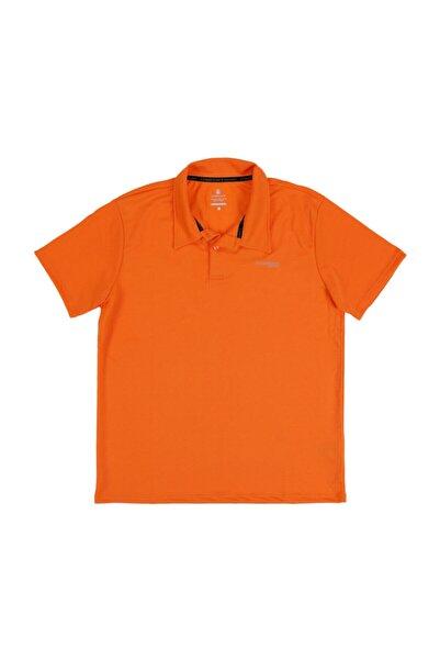 lumberjack M-18182 Sky Kk Polo Tshır Turuncu Erkek Kısa Kol T-shirt
