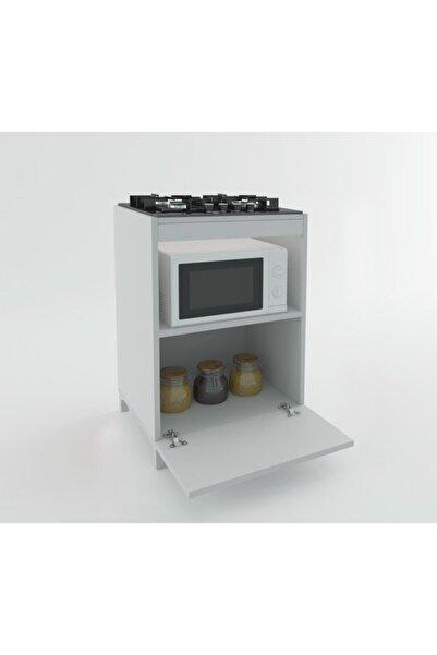 Kenzlife Ocak Dolabı Demi Byz Mutfak Modül Mini Fırın Ankastre Ocak Için  85*60*57 cm