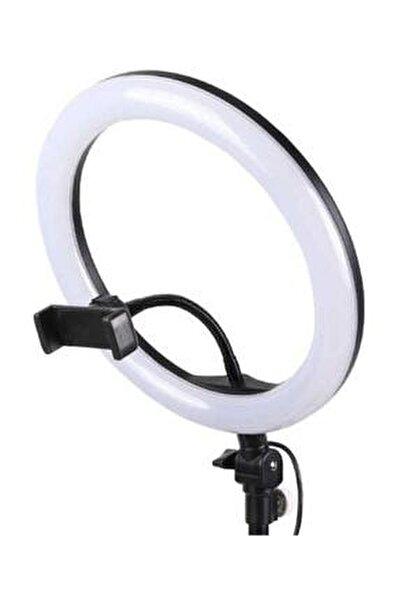 10 Inç Youtuber Video Oda Çekimleri Için Ring Light Sürekli Beyaz Led Işık Halka Led Lamba