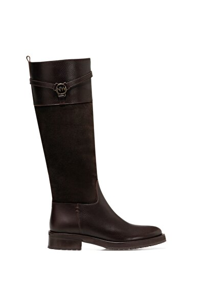 Nine West Bretta Kahverengi Kadın Çizme