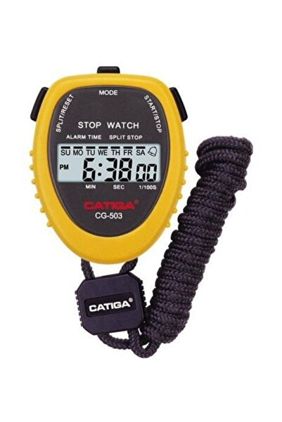Tiga Cg-503 Sarı Dijital Kronometre