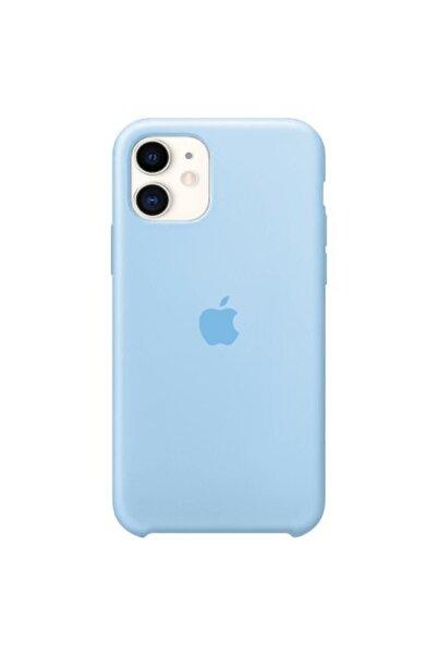 Enz Aksesuar Turkuaz Mavi Apple Iphone 11 Lansman Kılıf - Içi Süet
