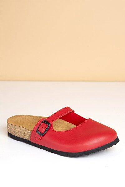 Pierre Cardin Pc-5074 Kırmızı Kadın Terlik