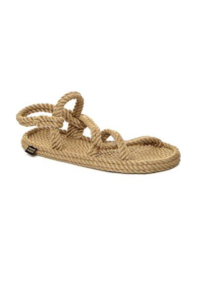 Nomadic Republic Kadın Bej Sandalet Myk1001k Mykonos İp  0012